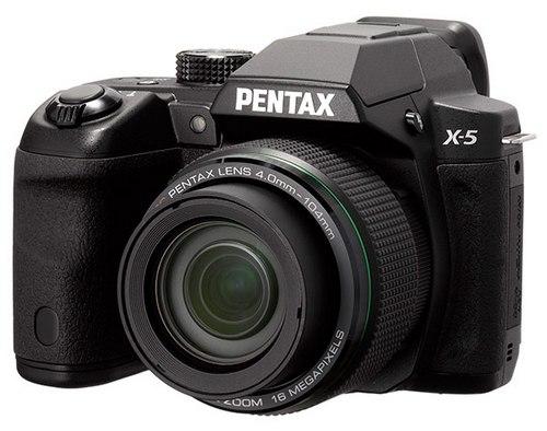 Pentax X-5 - фотоаппарат для туристов
