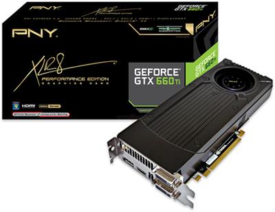 Видеокарты PNY GeForce GTX 660 и GTX 650