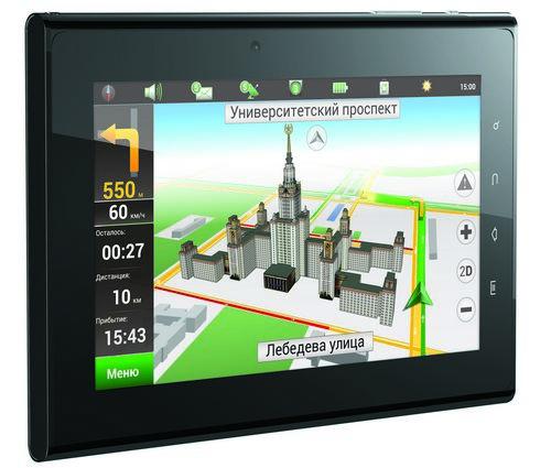 Prology iMap-7000Tab – навигатор на Android 4.0