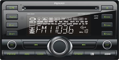Новый ресивер Prology CMD-250UR