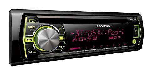 Новые мультиформатные CD-ресиверы Pioneer DEH-X3500UI, DEH-X5500BT и DEH-4500BT