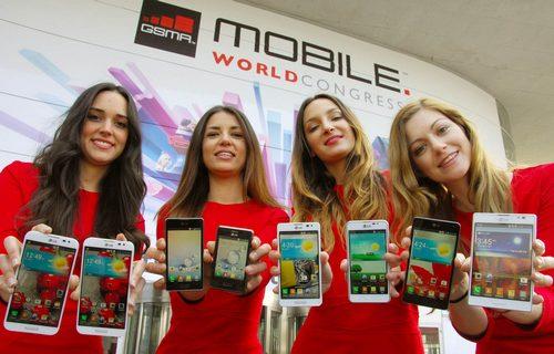 Четыре новых устройства LG Optimus