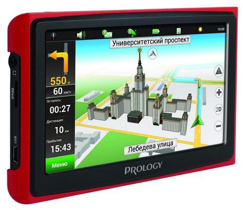 навигаторы Prology iMap-4300 и iMap-5300