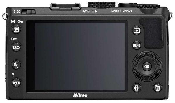Дисплей Nikon Coolpix A