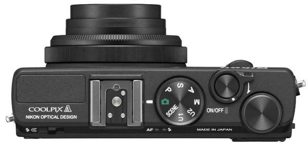 Управление Nikon Coolpix A