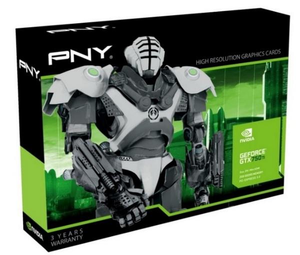 PNY GeForce GTX 750 & GTX 750 Ti