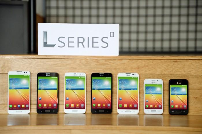 Смартфоны LG серии LIII на MWC 2014