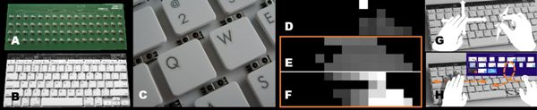 Microsoft Research's Type-Hover-Swipe keyboard