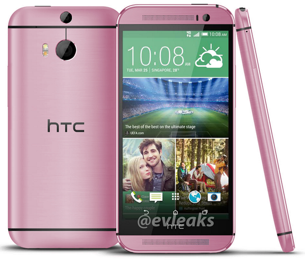 HTC-One-M8-Pink