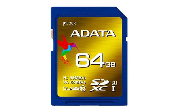 ADATA SDXC UHS-I Speed Class 3 (U3)