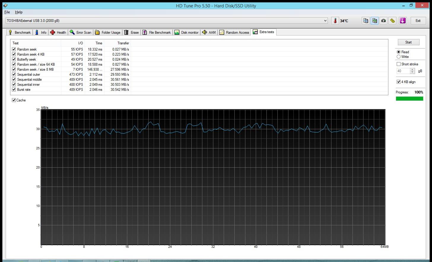 Тест портативного накопителя Toshiba STOR.E BASICS 2TB