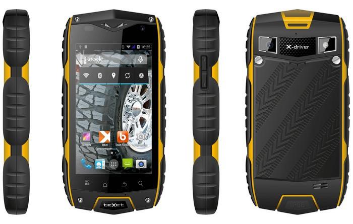 смартфон teXet X-driver Quad