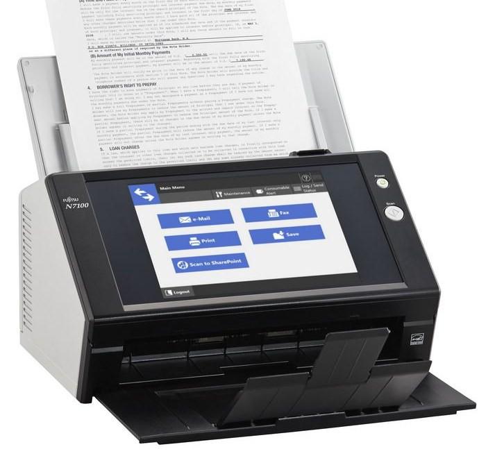 Сетевой сканер Fujitsu N7100