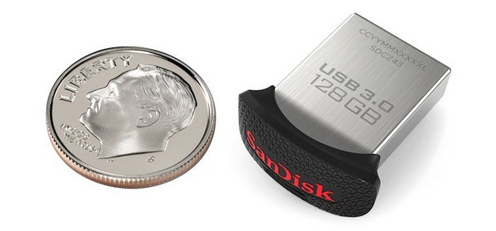 SanDisk Ultra Fit USB 3.0 128 ГБ