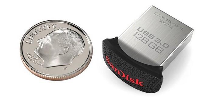 SanDisk Ultra Fit USB 3.0 128 ГБ