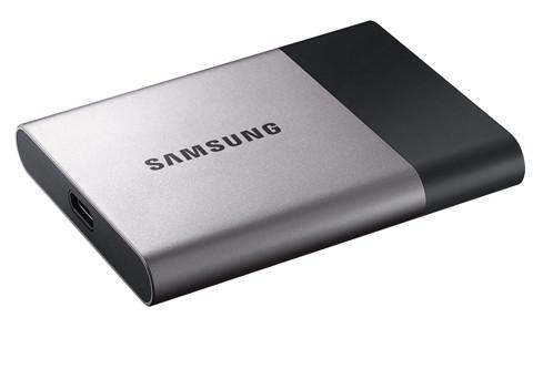Samsung Portable SSD T3 емкостью до 2 ТБ