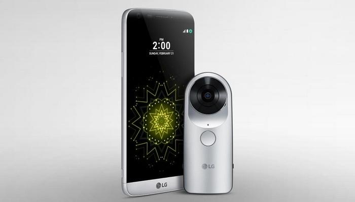 LG 360 CAM - панорамная камера