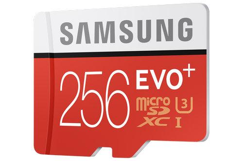 EVO Plus 256GB microSD card