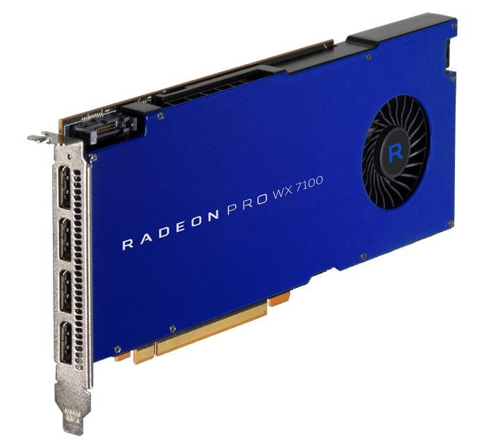 Radeon™ Pro WX 7100