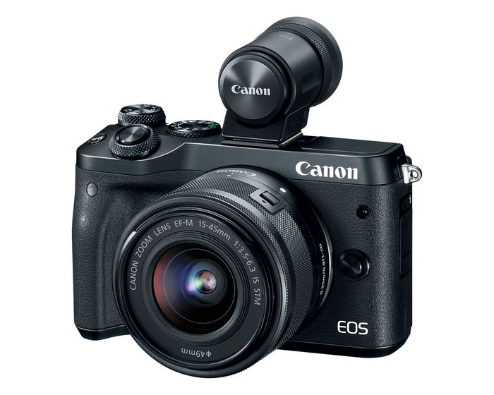 Беззеркальная фотокамера Canon EOS M6