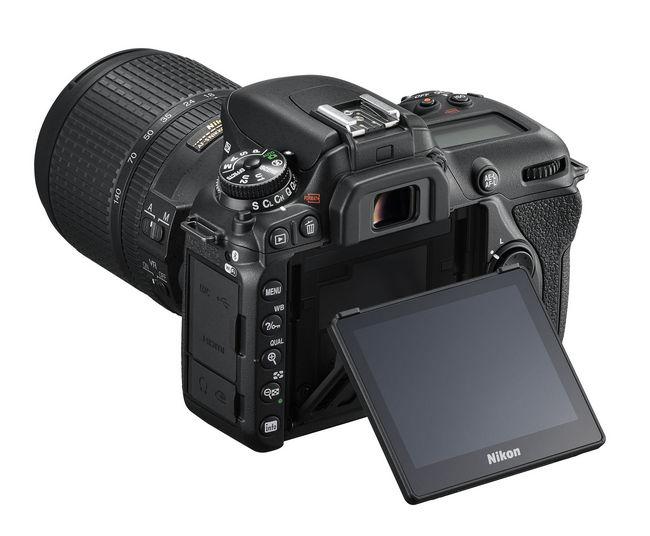Nikon D7500 дисплей