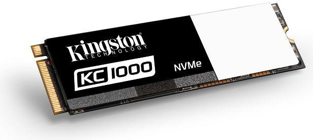 Kingston KC1000 NVMe PCIe SSD