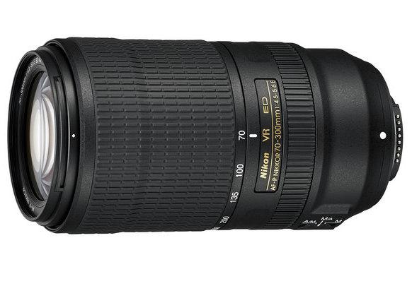 AF-P NIKKOR 70–300mm f/4.5-5.6E ED VR