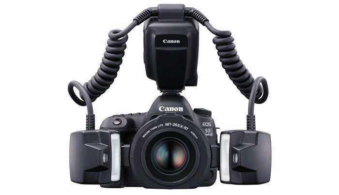 Специализированная макровспышка CanonMacroTwinLiteMT‑26EX‑RT