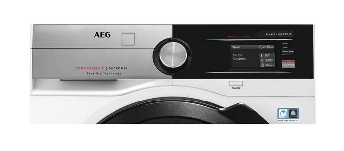 AEG представила линейку стирально-сушильных машин
