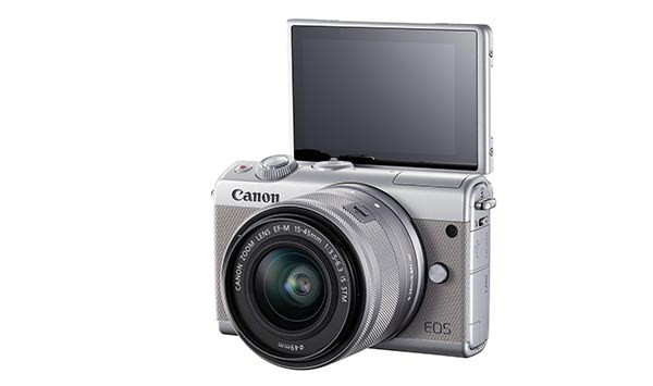 Canon EOSM100 - компактная беззеркальная фотокамера