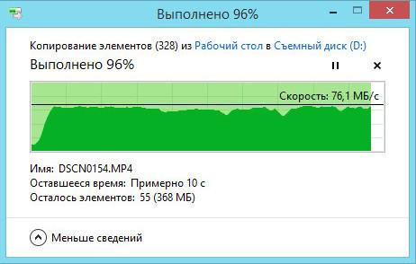 Запись файлов на карту памяти