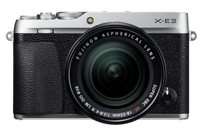 FUJIFILM X-E3 - самая легкая и компактная камера с видоискателем в линейке X