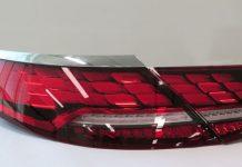 Задние OLED-фонари от LG