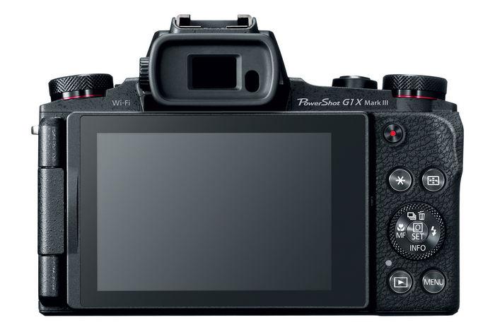 Canon PowerShot G1 X Mark III с Dual Pixel CMOS AF
