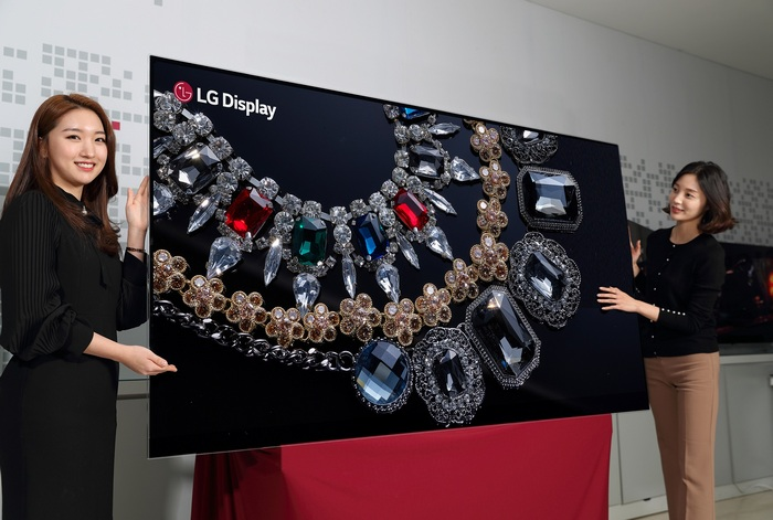 LG Display анонсировала создание 88-дюймового OLED-дисплея 8K