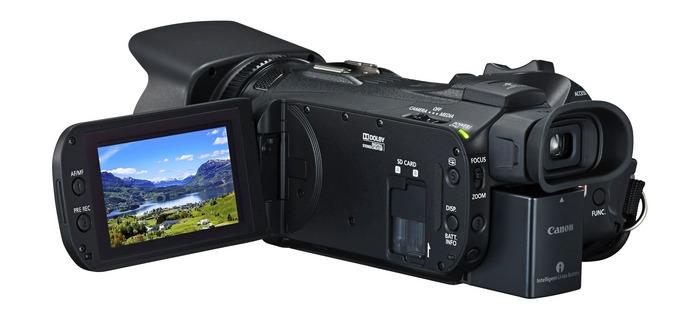 Canon LEGRIA HF G26 дисплей