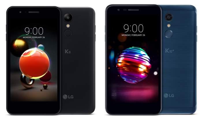 LG K8 2018 и LG K10 2018
