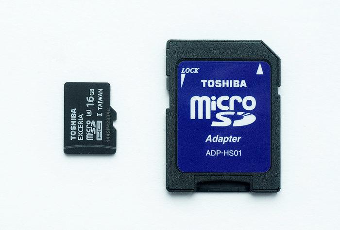 Обзор Toshiba EXCERIA™ SD-CX16UHS1 16 Гб