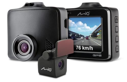 Видеорегистратор Mio MiVue C380D с двумя камерами