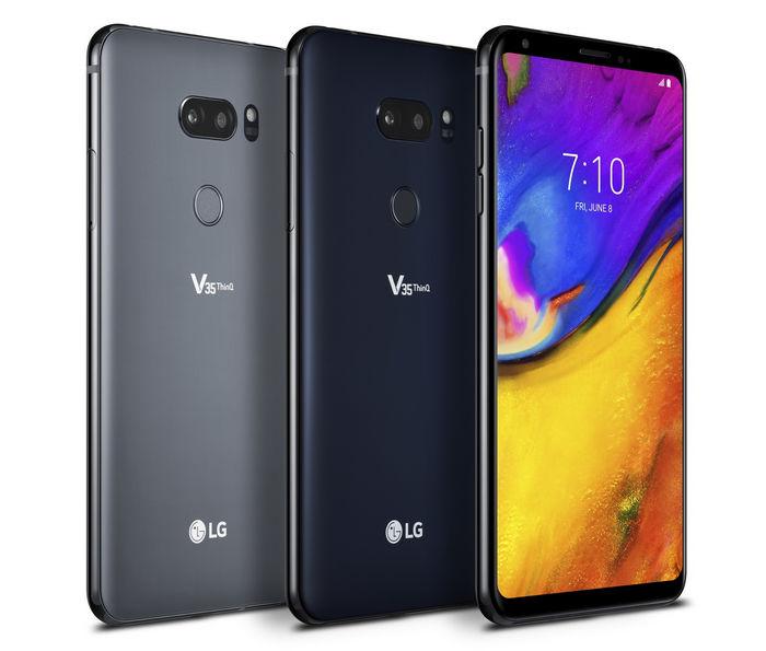 LG V35 ThinQ - новый мультимедийный смартфон V-серии