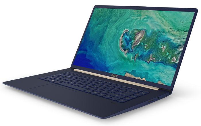 """Обновлен ноутбук Acer Swift 5 весом менее 1кг с 15"""" дисплеем"""