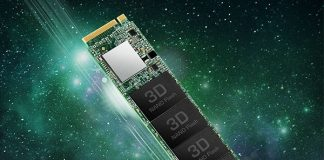 Твердотельный накопитель Transcend MTE110S с интерфейсом PCIe Gen 3 x4