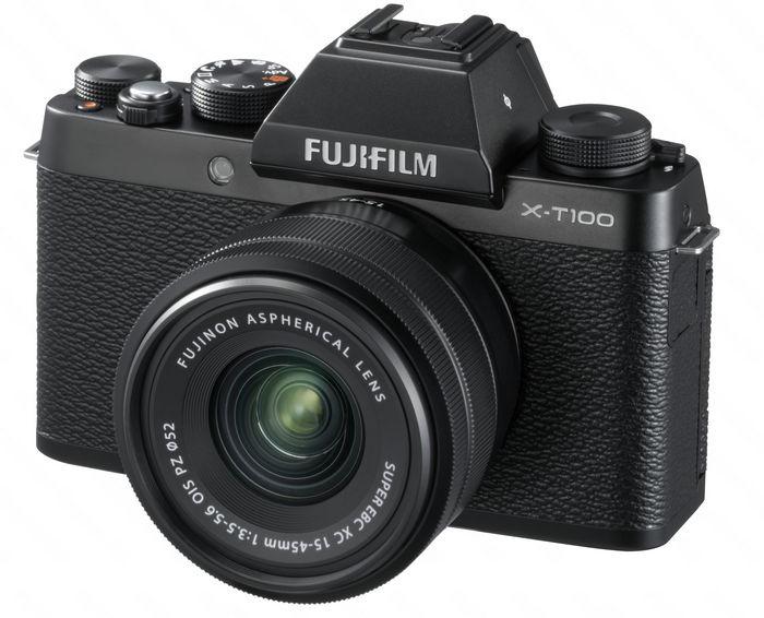 FUJIFILM X-T100: стильная беззеркалка начального уровня