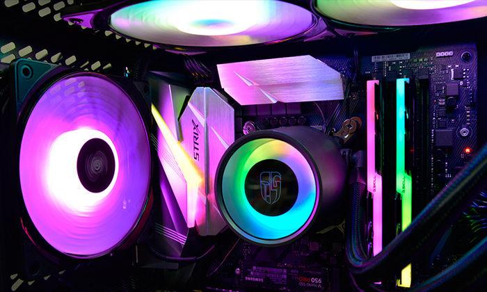 Deepcool CASTLE 240/280RGB - СВО для процессоров с иммерсионной подсветкой