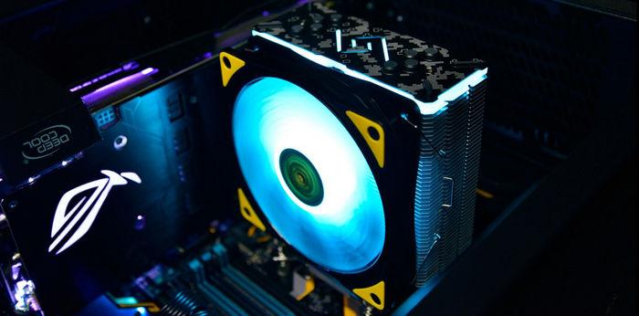 Процессорный RGB-кулер Deepcool GAMMAXX GT TGA