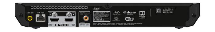 Sony UBP-X700 rear