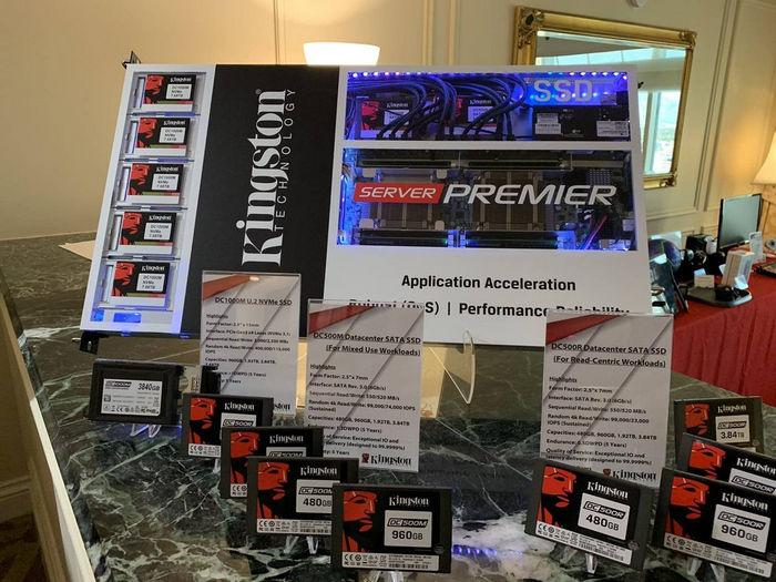 Kingston представила новые потребительские и корпоративные SSD