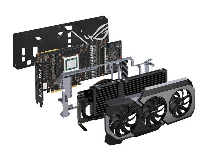 ASUS ROG представляет видеокарту ROG Matrix GeForce RTX™ 2080 Ti