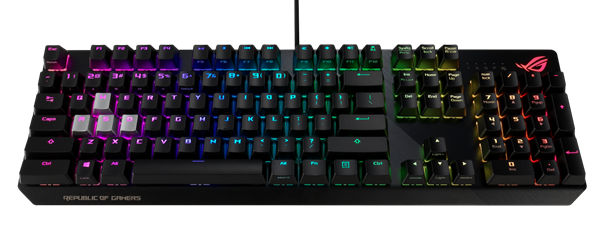 клавиатуры Republic of Gamers (ROG) Strix CTRL и TUF Gaming K7
