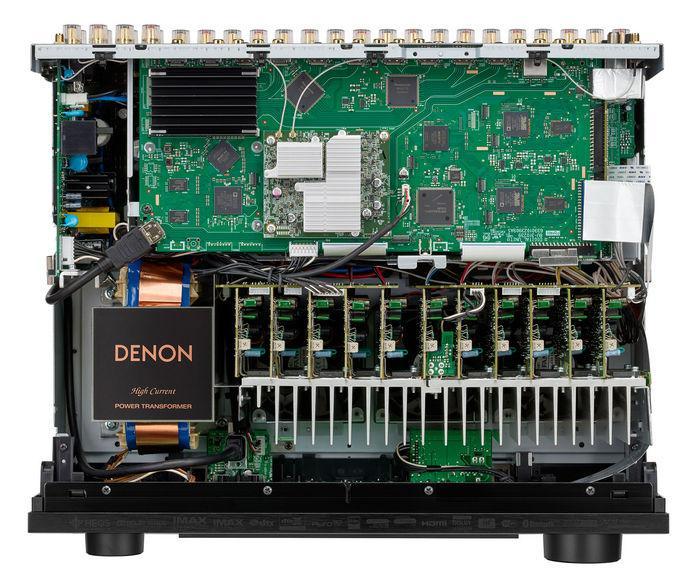 DENON AVC-X6700H компоновка платы